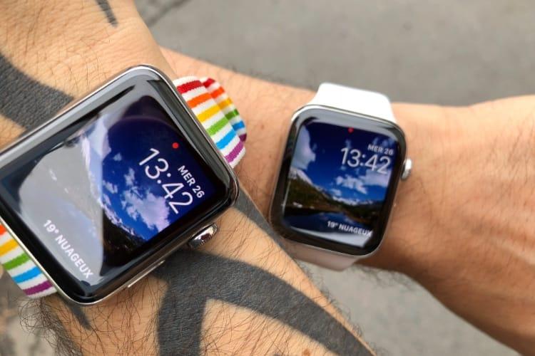 Sans surprise, l'Apple Watch Series 4 est plus réactive que la Series 3