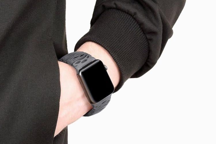 Des bracelets imprimés en 3D pour l'Apple Watch