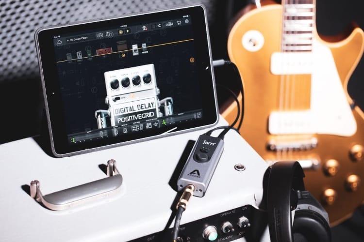 Jam+: Apogee améliore son interface mobile pour guitares