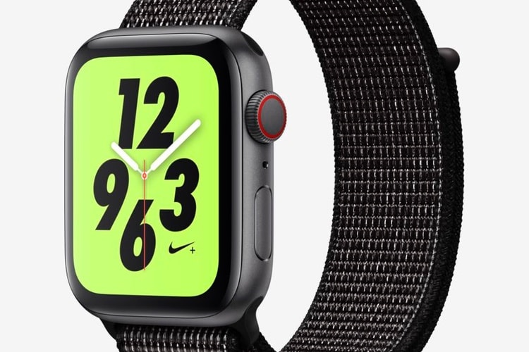 Des Apple Watch Series 4 Nike+ en stock chez Nike
