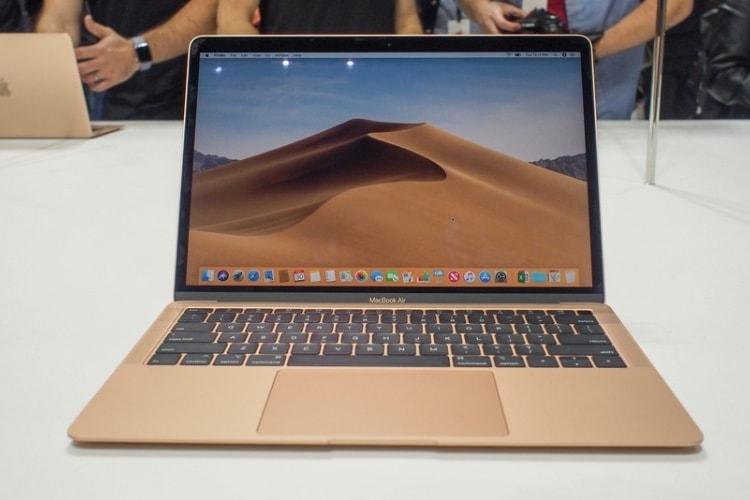 """MacBook Air 2018: des performances entre le MacBook 12"""" et le MacBook Pro 13"""""""