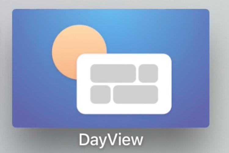 DayView: un tableau de bord gratuit mais limité sur Apple TV