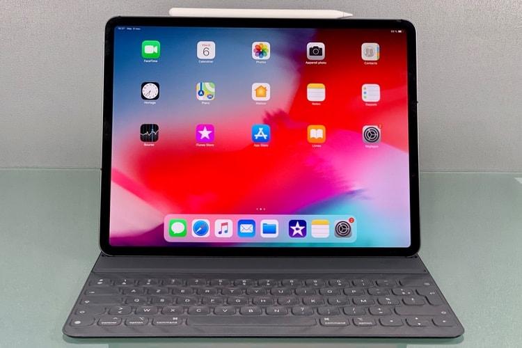 Aperçu de l'iPad Pro 2018: un magnétisme qui opère