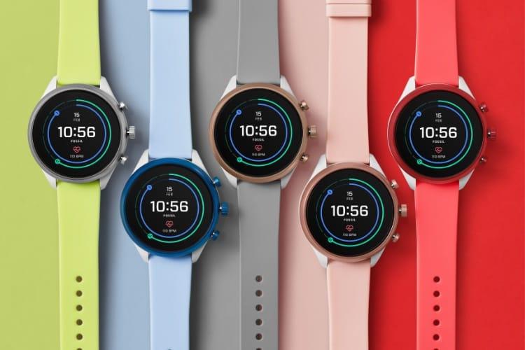 La nouvelle puce Snapdragon 3100 dans les dernières montres de Fossil