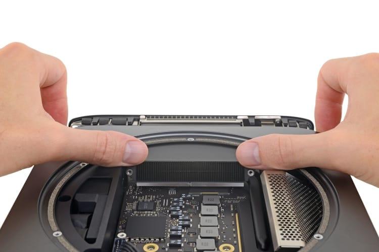 Mac mini 2018: iFixit lui attribue un 6/10 en réparabilité