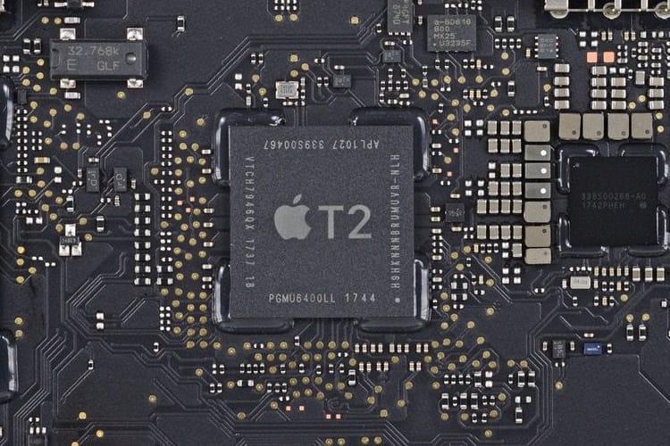 La puce T2 bloque bien certaines réparations effectuées sans l'aval d'Apple