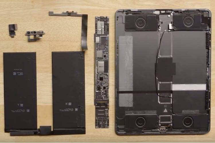 iPad Pro 12,9'' : grande tablette, batterie plus petite