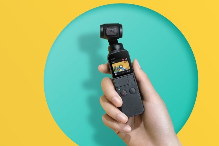 DJI Osmo Pocket: une caméra de poche stabilisée