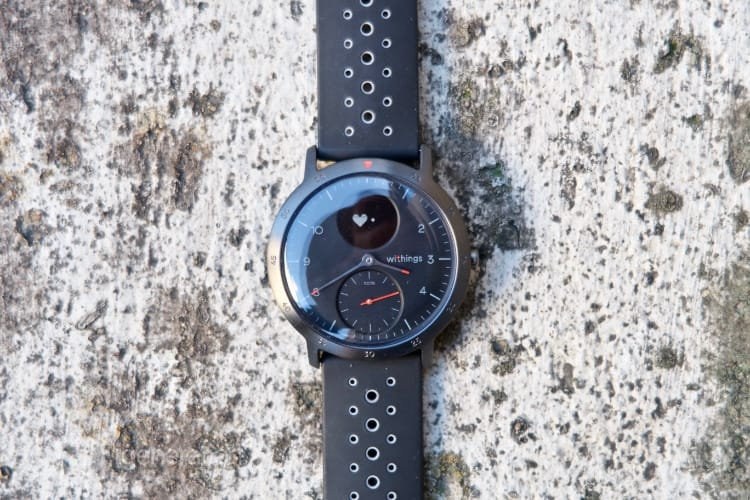Test de la Withings Steel HR Sport