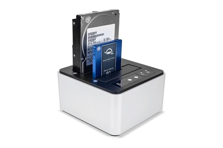 Un nouveau dock OWC USB-C deux baies pour disques durs