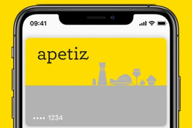 Le titre restaurant Apetiz maintenant compatible avec Apple Pay
