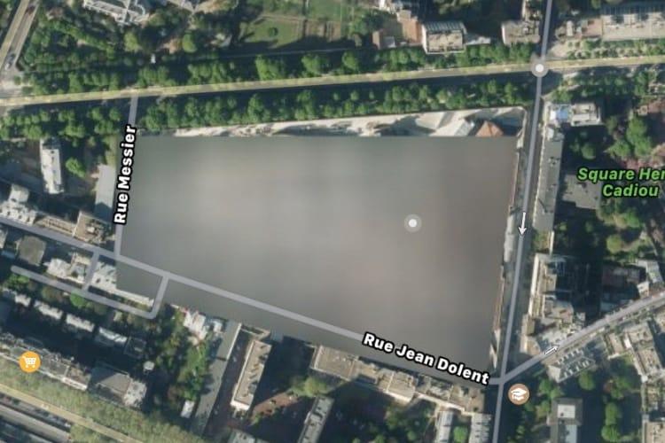 Centrales nucléaires et prisons: Google pixellise, Apple floute