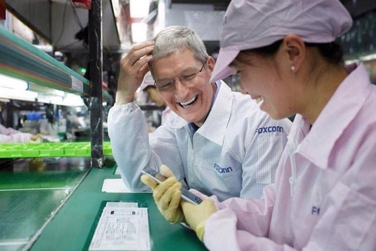 Taxe sur les importations chinoises: la délocalisation de la production de l'iPhone envisagée
