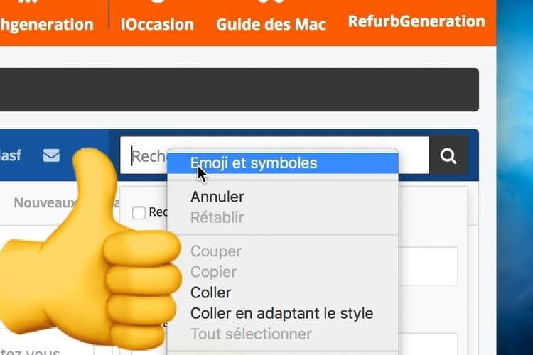 Chrome 67 insère plus facilement des emojis