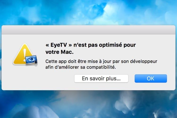 EyeTV passera au 64bits pour les prochaines versions de macOS