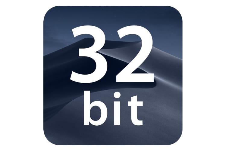 macOS Mojave ne bloque pas (encore?) les apps 32bits