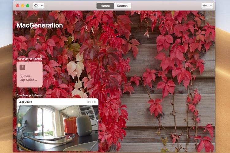 macOS Mojave n'est pas très discret avec les caméras HomeKit