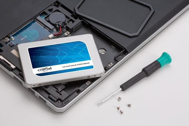Promo: un SSD Crucial de 480Go à 95€