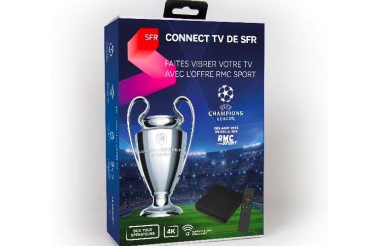 SFR commercialise une box Android TV pour ses contenus