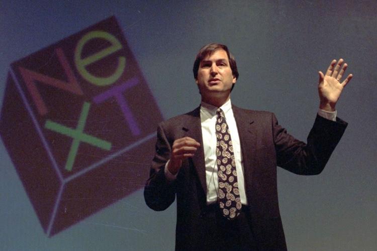 Lorsque Steve Jobs alla expliquer NeXT à des utilisateurs Unix «qui n'y pigeaientrien»