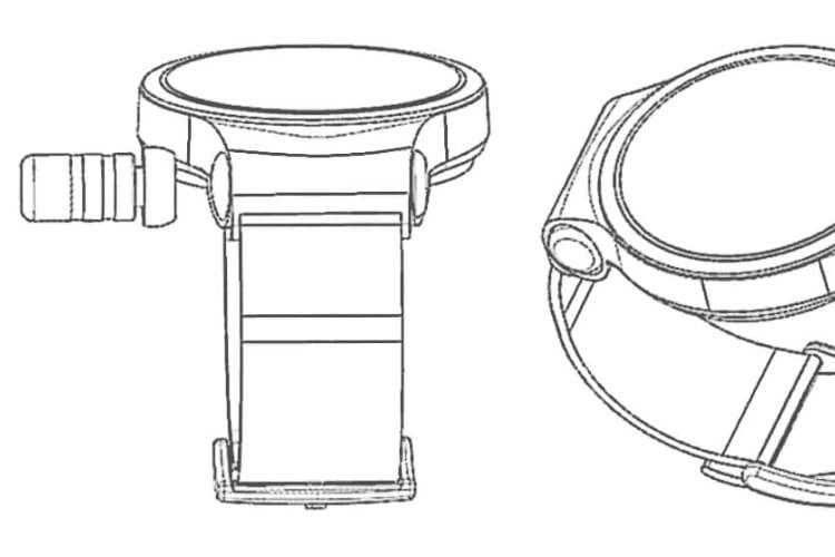 Brevet : Huawei range des écouteurs dans le bracelet d'une montre connectée