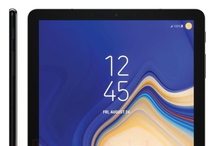 La nouvelle tablette de Samsung n'a pas de bouton d'accueil