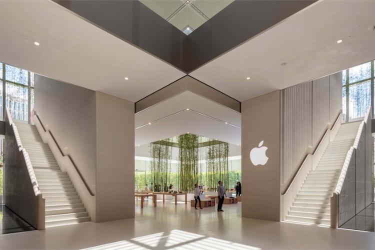 L'Apple Store de Macao se veut une « oasis de calme»