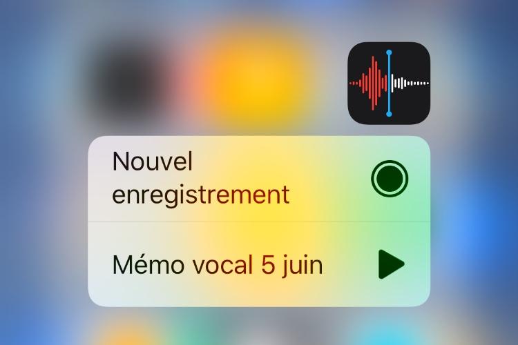 iOS 12 : les nouveautés de l'app Dictaphone
