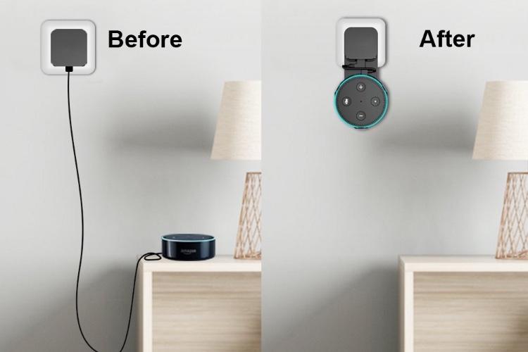 Promos: un support mural pour Echo Dot à 9€ et un adaptateur Lightning et jack à 7,6€