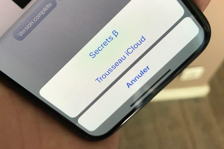 Voici comment iOS 12 remplit les mots de passe avec un gestionnaire tiers