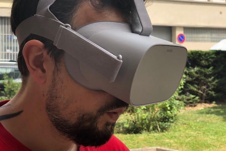 Test de l'Oculus Go : la réalité virtuelle sans se prendre la tête