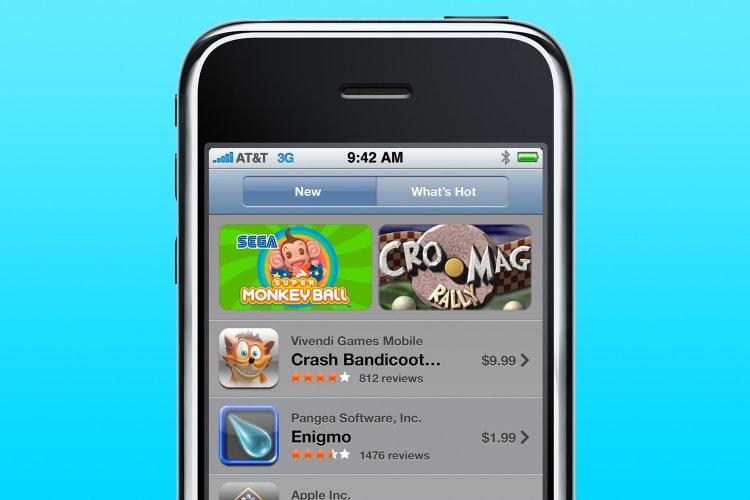 Apple célèbre les 10 ans de l'App Store