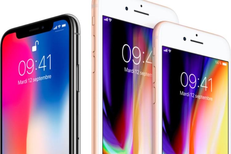 En mai, les clients ont repris de l'iPhone haut de gamme