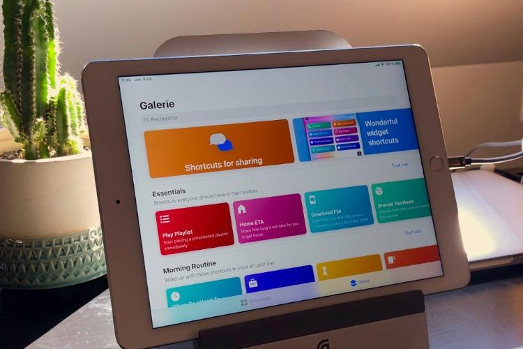 Raccourcis: découverte de l'app d'Apple pour automatiser iOS