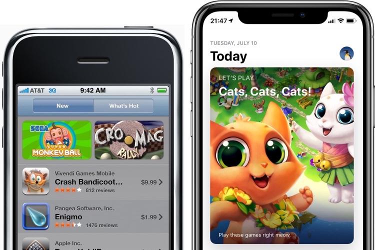 Galerie: ces apps ont dix ans… comme l'AppStore !
