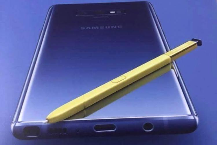 """Le """"nouveau super puissant"""" Galaxy Note9 se montre en poster"""
