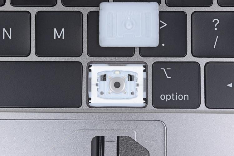 Le clavier papillon de troisième génération reste exclusif aux nouveaux MacBook Pro
