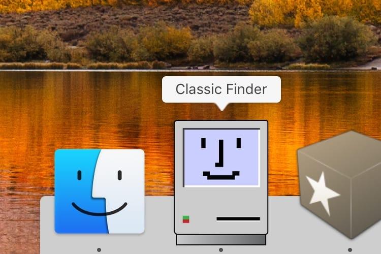 Le Finder de Mac OS 9 a toujours fière allure sur macOS