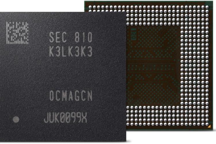 RAM : Samsung présente un premier prototype de LPDDR5