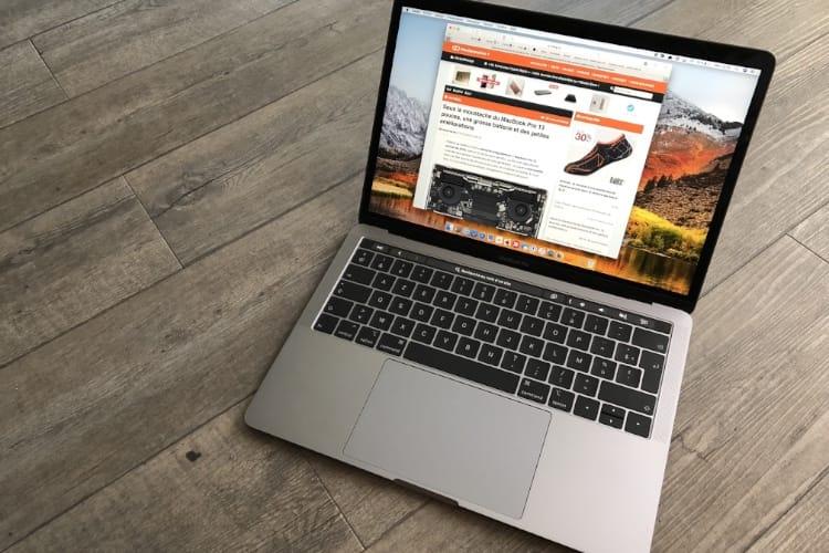 MacBook Pro : les 13 pouces de 2018 aussi puissants que les 15 pouces de 2017