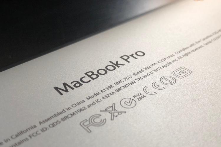 Apple étend la prise en charge du premier MacBook Pro Retina de quelques mois