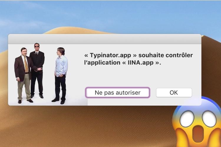 Le PC de la campagne «Get a Mac» pourrait se moquer de macOSMojave