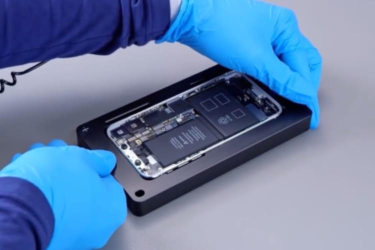 Fuite de vidéos internes Apple : démontage et réparation d'iPhone X, de MacBook Pro, d'iMac Pro... [MàJ]