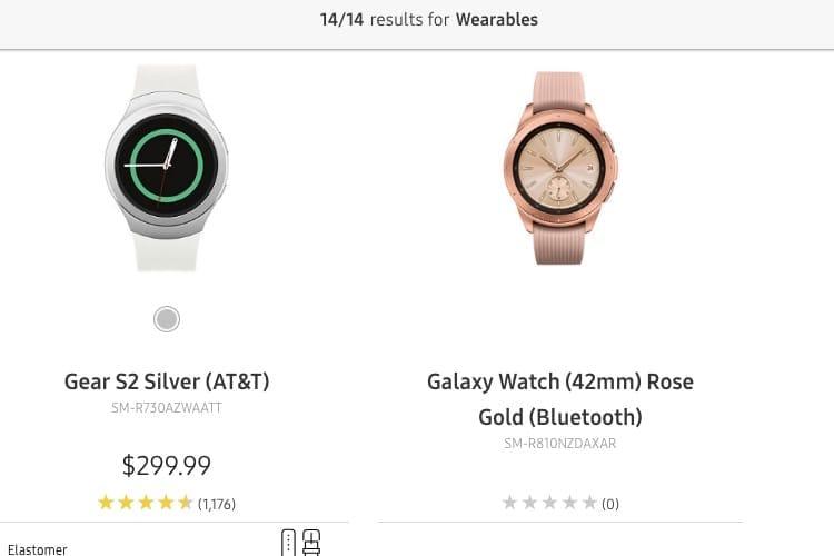 Samsung dévoile la Galaxy Watch un peu trop tôt
