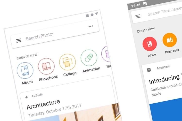 Pour le nouveau design de ses apps, Google mise tout sur le blanc