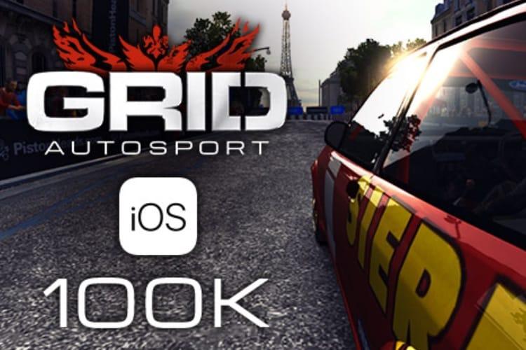 GRID Autosport : la meilleure simulation automobile sur iOS atteint les 100000 copies