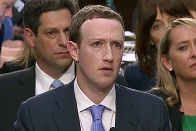 Gros gadin pour l'action Facebook