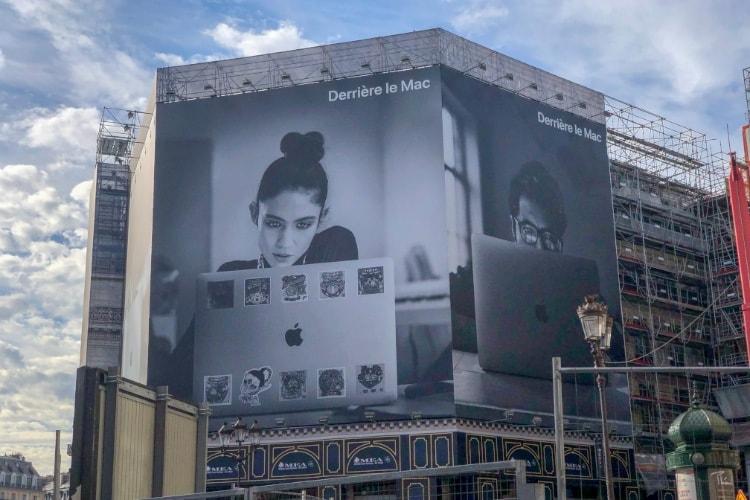 image en galerie : «Derrière le Mac» sur le devant de la scène