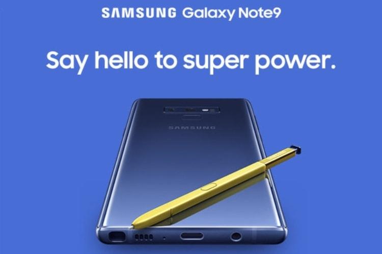 Le Galaxy Note9 fuite: jusqu'à 1 To de stockage et un chargeur sans fil deux-en-un