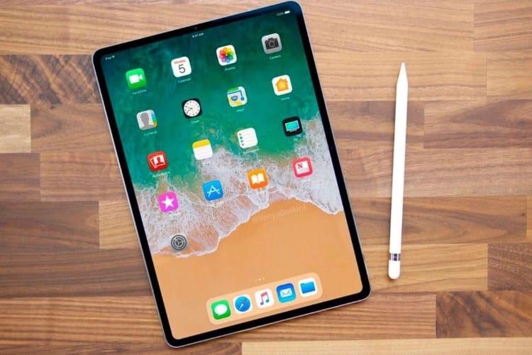 Comme l'iPhone X, l'iPad Pro 2018 devrait arrondir les angles de son écran